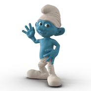 Smurf Rigged for Maya. Preview 7