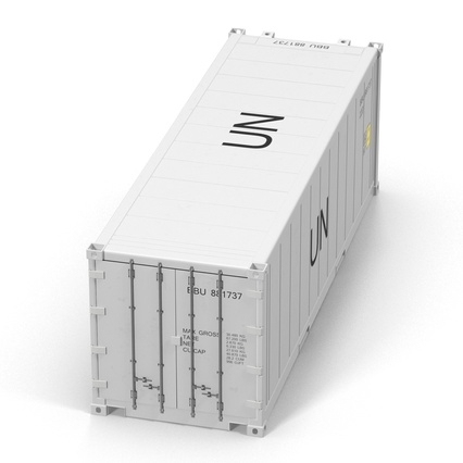 ISO Refrigerated Container. Render 12