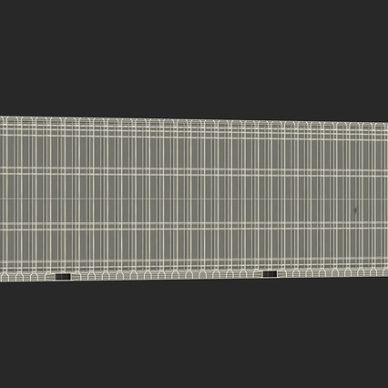 40 ft High Cube Container White. Render 47