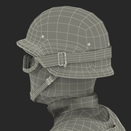 SWAT Man Mediterranean Rigged for Cinema 4D. Preview 61