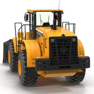Generic Front End Loader Rigged. Preview 12