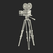 Vintage Video Camera and Tripod. Preview 36