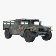 Cargo Troop Carrier Car HMMWV m1038 Camo