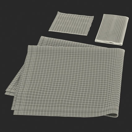 Napkins Collection. Render 39