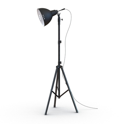 Photo Studio Lamps Collection. Render 2