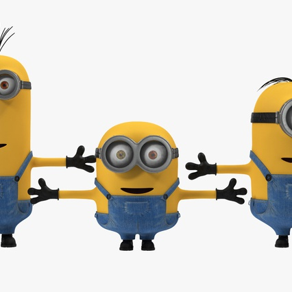 Minions Collection. Render 5