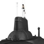 Typhoon Class Submarine. Preview 21