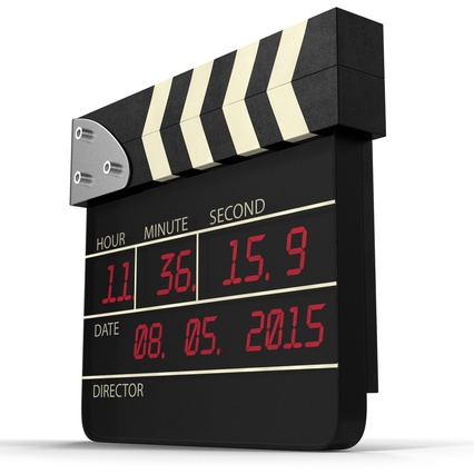 Digital Clapboard 2. Render 10