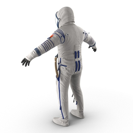 Russian Space Suit Sokol KV2 Rigged. Render 14