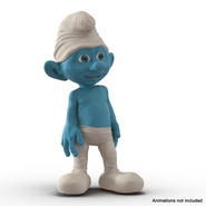 Smurf Rigged for Maya. Preview 3