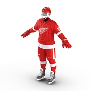 Hockey Equipment Detroit Red Wings. Preview 7