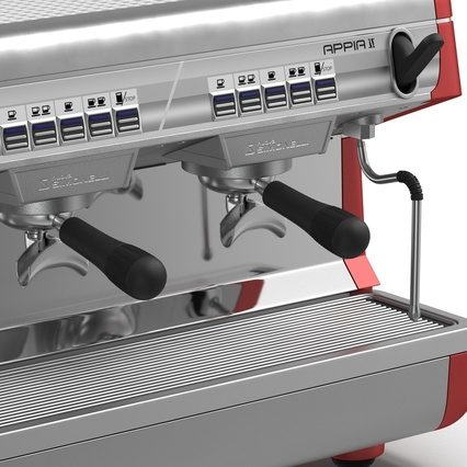 Espresso Machine Simonelli. Render 18