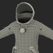 Russian Space Suit Sokol KV2 Rigged. Preview 67