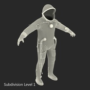 Russian Space Suit Sokol KV2 Rigged. Preview 54