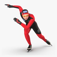 Speed Skater Pose 3