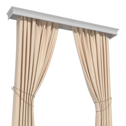 Curtains Collection. Render 49
