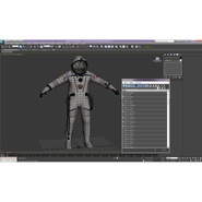 Russian Space Suit Sokol KV2 Rigged. Preview 59