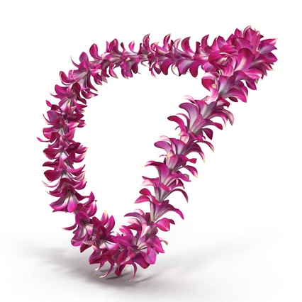 Hawaiian Leis Collection. Render 2