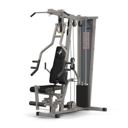 Weight Machine 2. Render 5