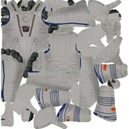 Russian Space Suit Sokol KV2 Rigged. Preview 56