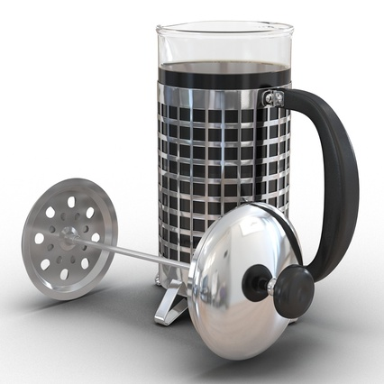 French Press. Render 17