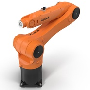 Kuka Robot KR 10 R1100 Rigged. Preview 14