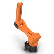Kuka Robot KR 10 R1100 Rigged. Preview 20
