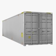 40 ft ISO Container White