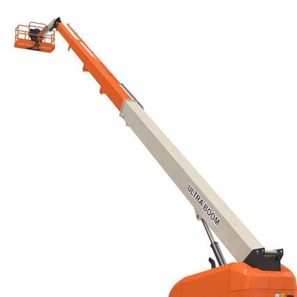 Telescopic Boom Lift Generic 4 Pose 2. Render 31