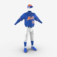 Baseball Player Outfit Mets 2. Preview 10