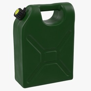 Petrol Jerry Can Green