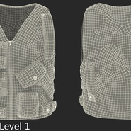 Military Camouflage Vest. Preview 11