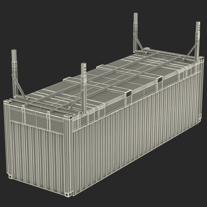 Swap Body Container ISO. Render 26