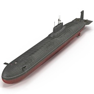 Typhoon Class Submarine. Preview 2