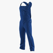 Blue Workwear Overalls. Preview 2