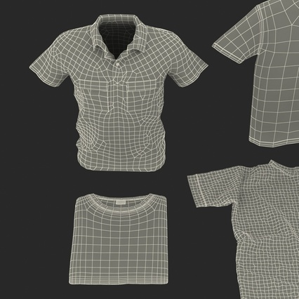T-Shirts Collection. Render 62