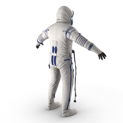Russian Space Suit Sokol KV2 Rigged. Render 12