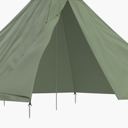 Floorless Camping Tent Open. Preview 11