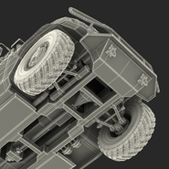 Russian Mobility Vehicle GAZ Tigr M Rigged. Preview 82