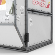 Airport Container Iberia Cargo. Preview 9