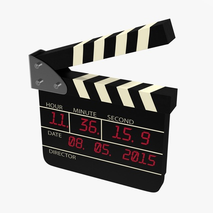 Digital Clapboard 2. Render 1