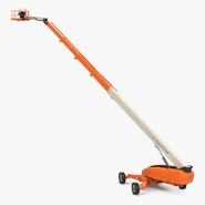 Telescopic Boom Lift Generic 4 Pose 2. Preview 1