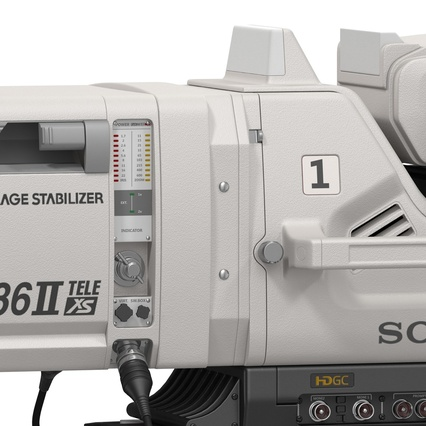 Professional Studio Camera DIGI SUPER 86II. Render 35