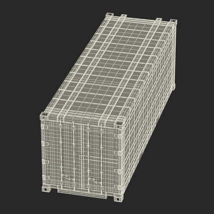 ISO Refrigerated Container. Render 40