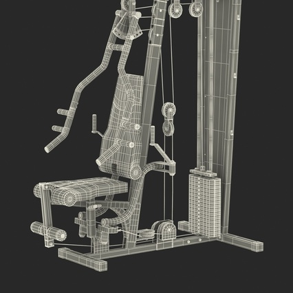 Weight Machine 2. Render 47