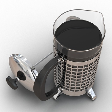 French Press. Render 18