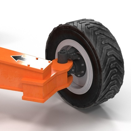 Telescopic Boom Lift Generic 4 Pose 2. Render 46