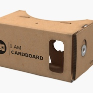 Google Cardboard VR Headset. Preview 3
