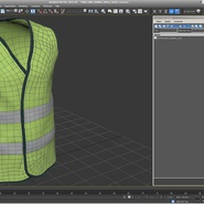 Yellow High Visibility Safety Jacket. Preview 12