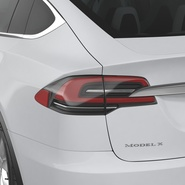 Tesla Model X Rigged. Preview 54